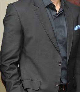 Rajeev Khandelwal visited blackk spalon